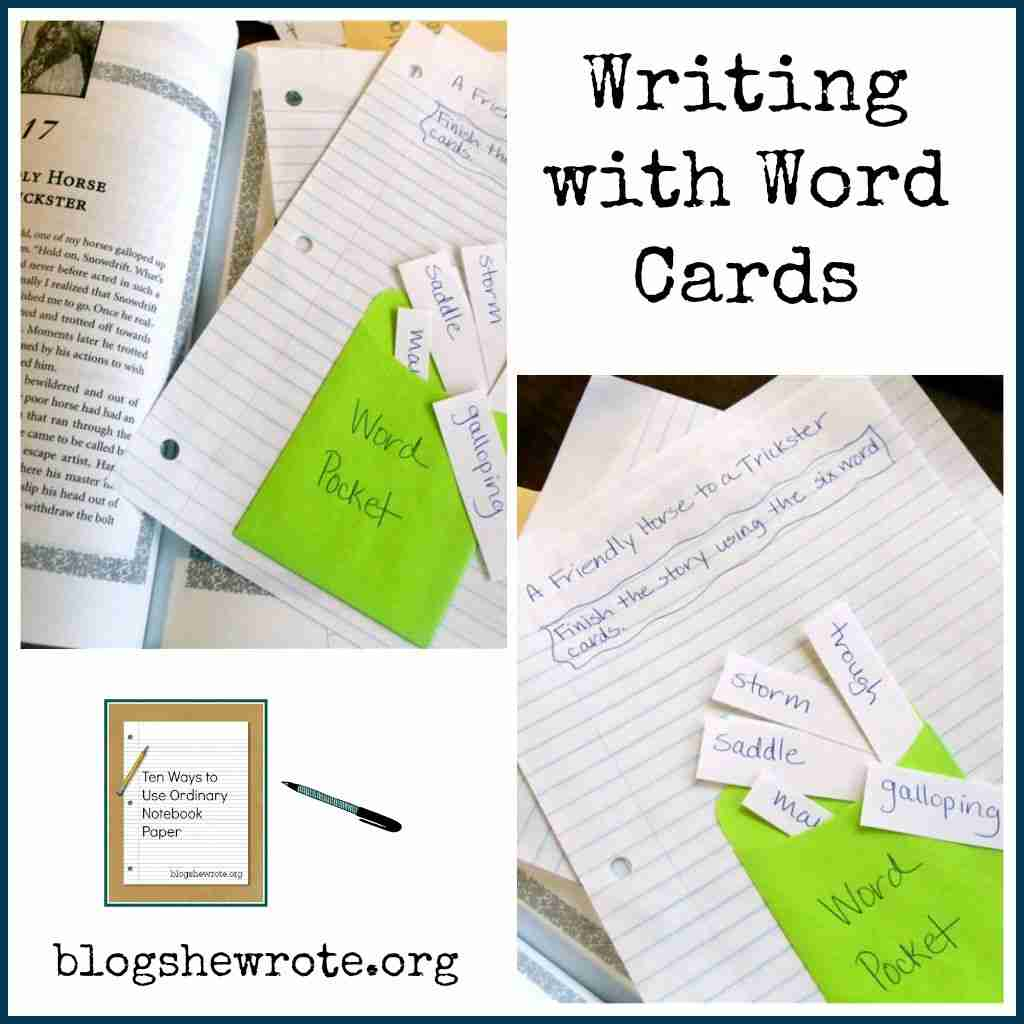 How to Write with Word Cards