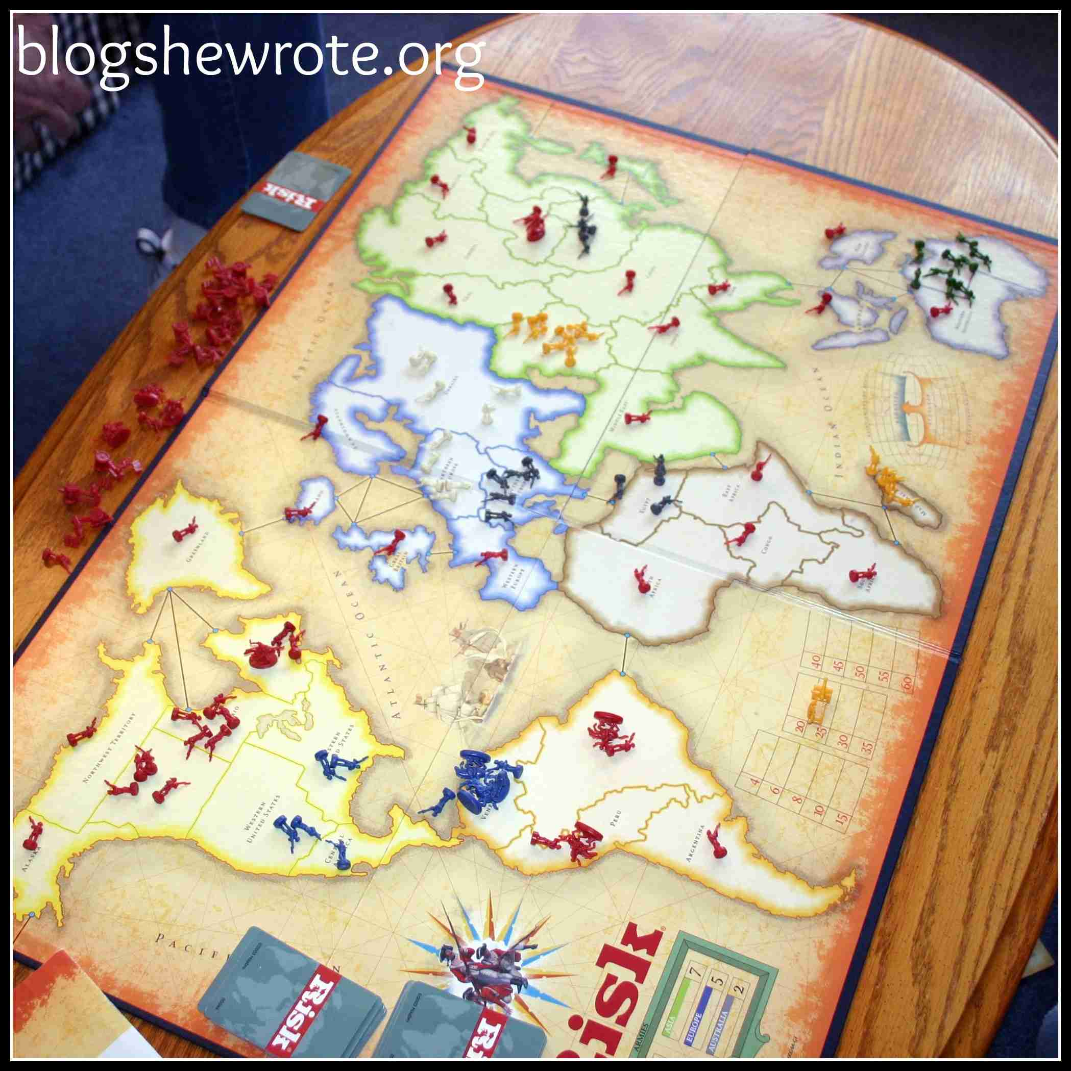 Blog She Wrote: Adventures with Games