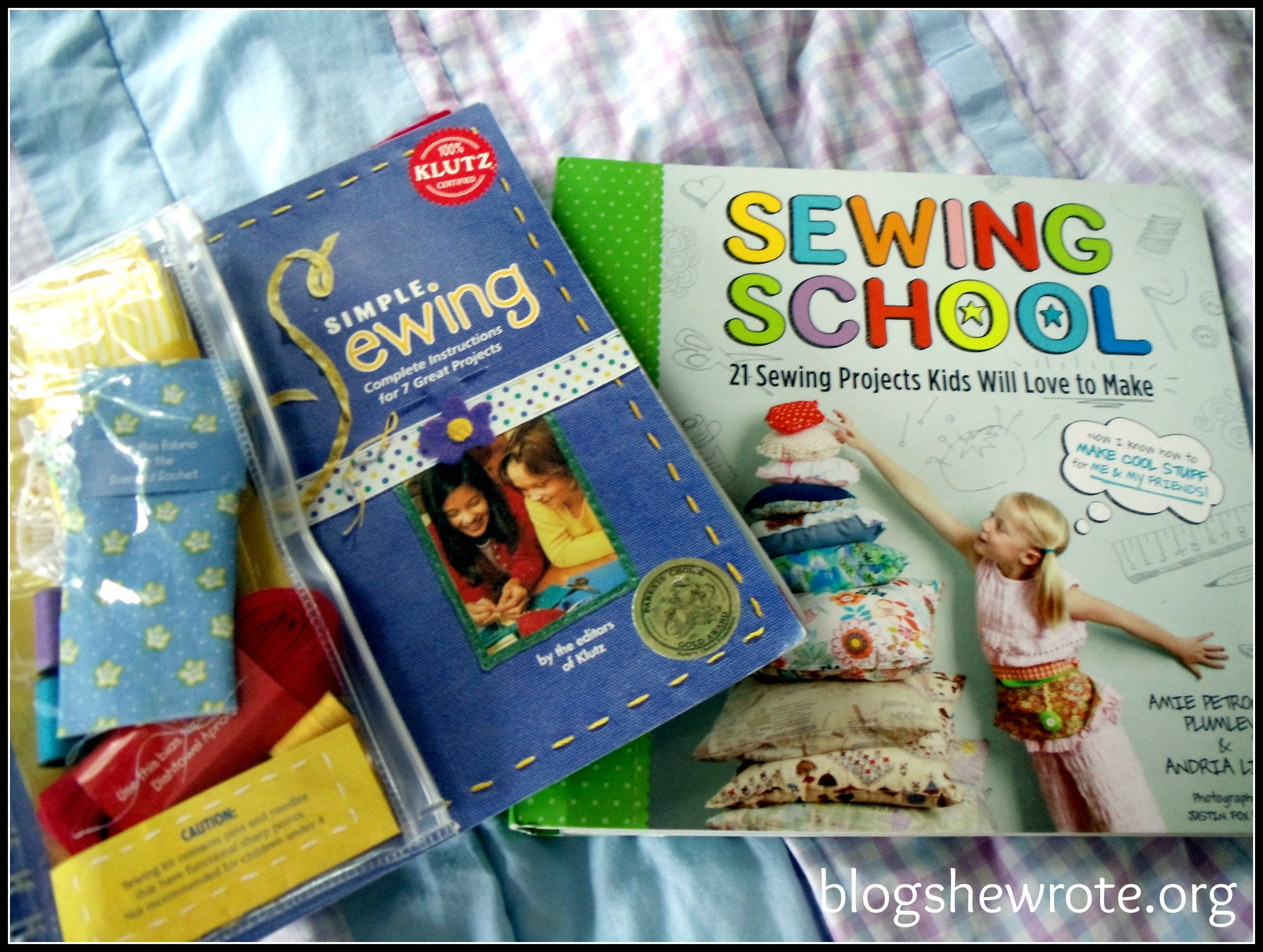 Blog She Wrote: Beginner Sewing Projects & Project Resources