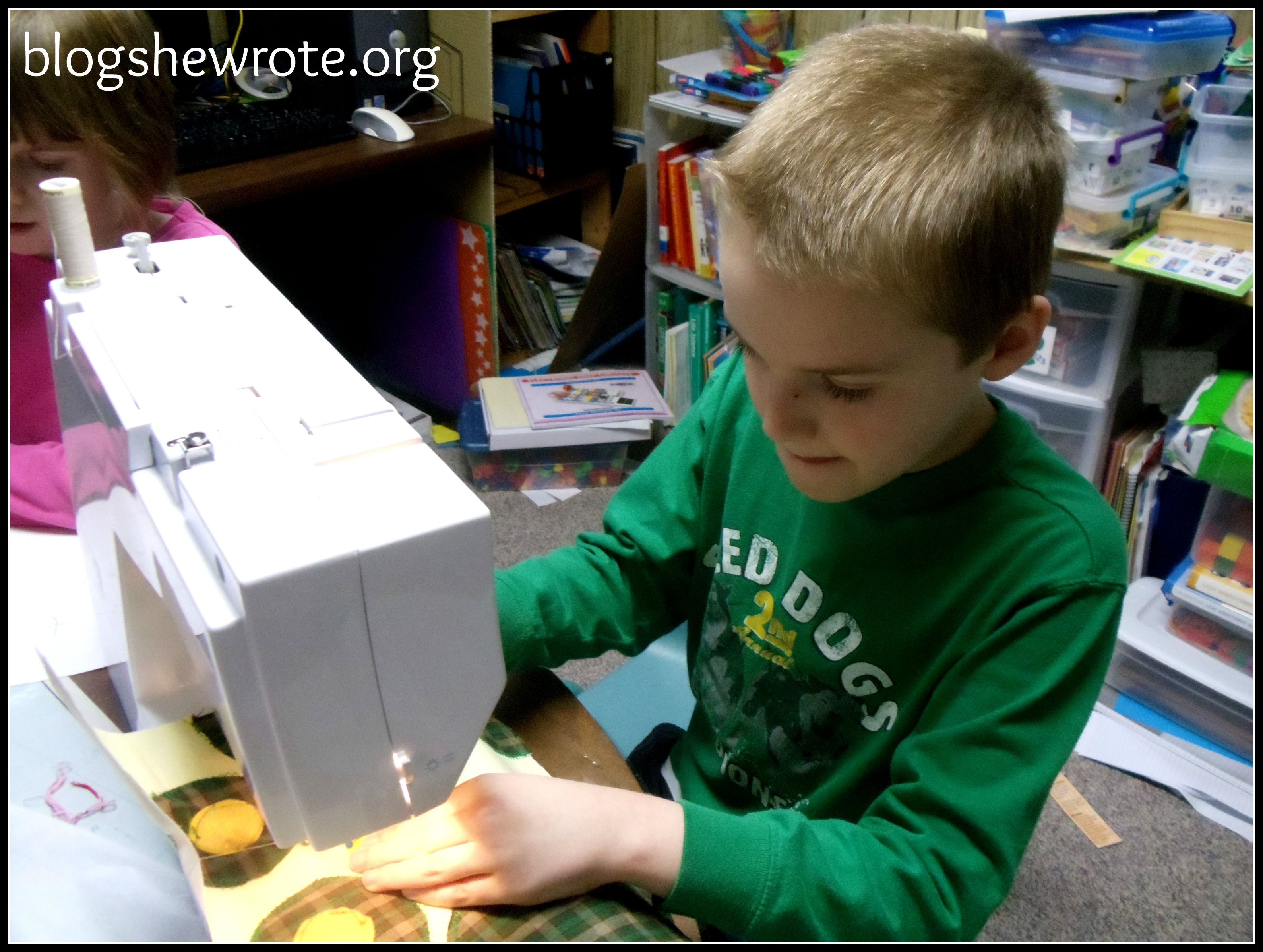 Blog She Wrote: General Tips for Teaching Sewing in Your Homeschool