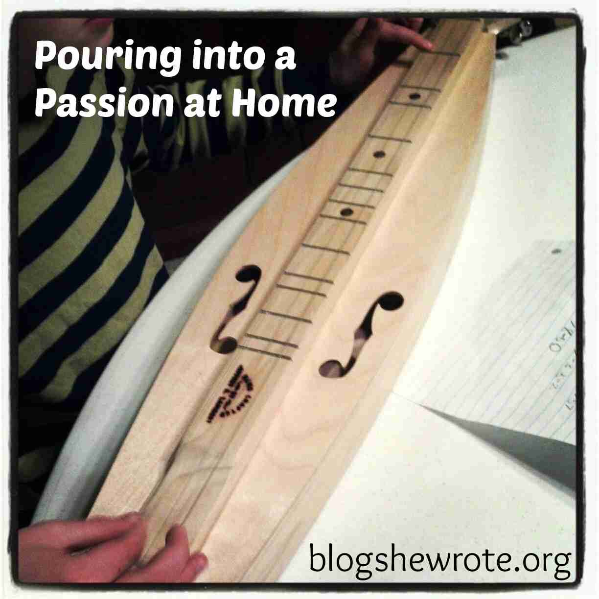 Blog She Wrote: Pouring into a Passion at Home