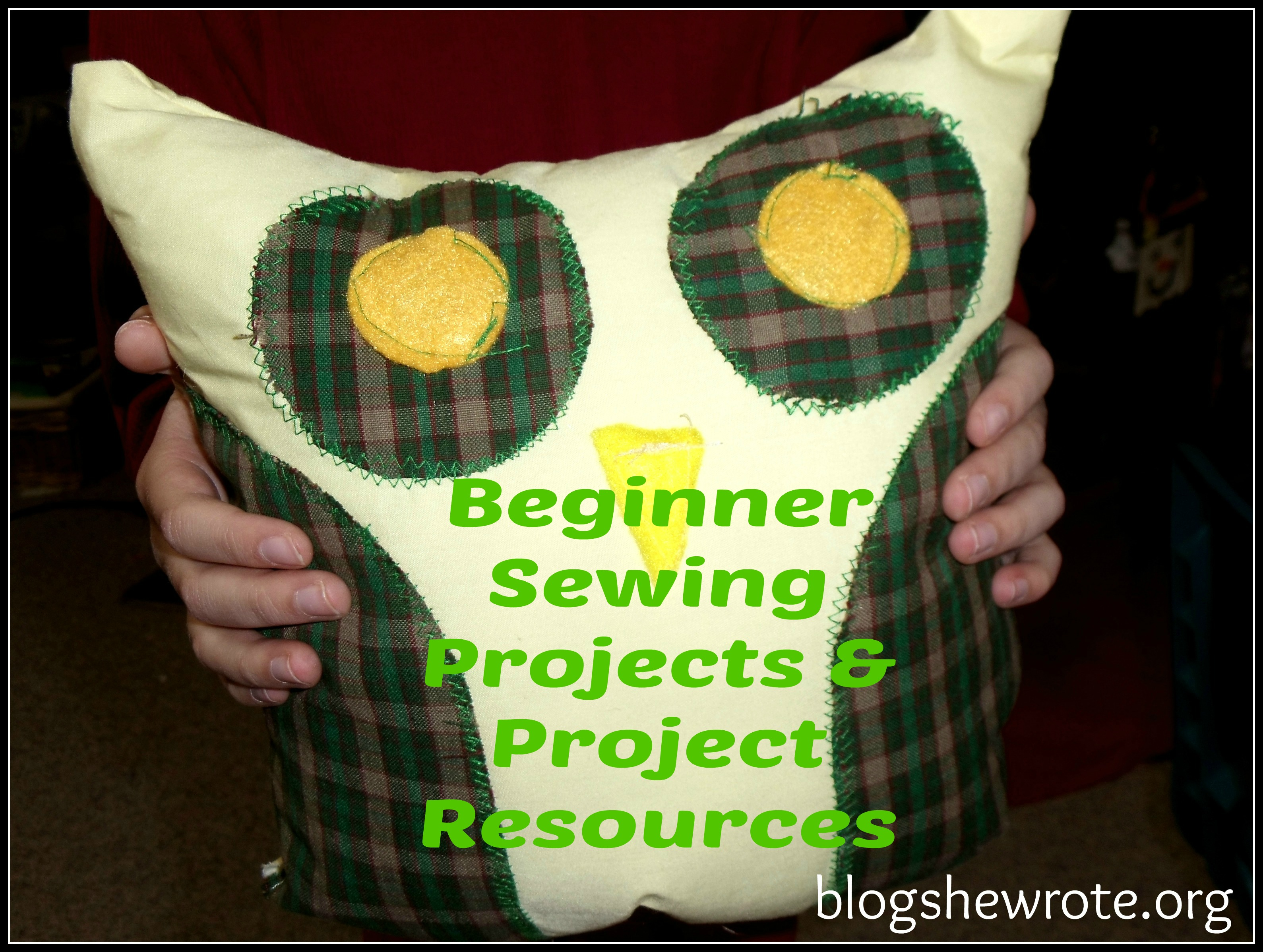 Blog She Wrote: Beginner Projects & Project Resources