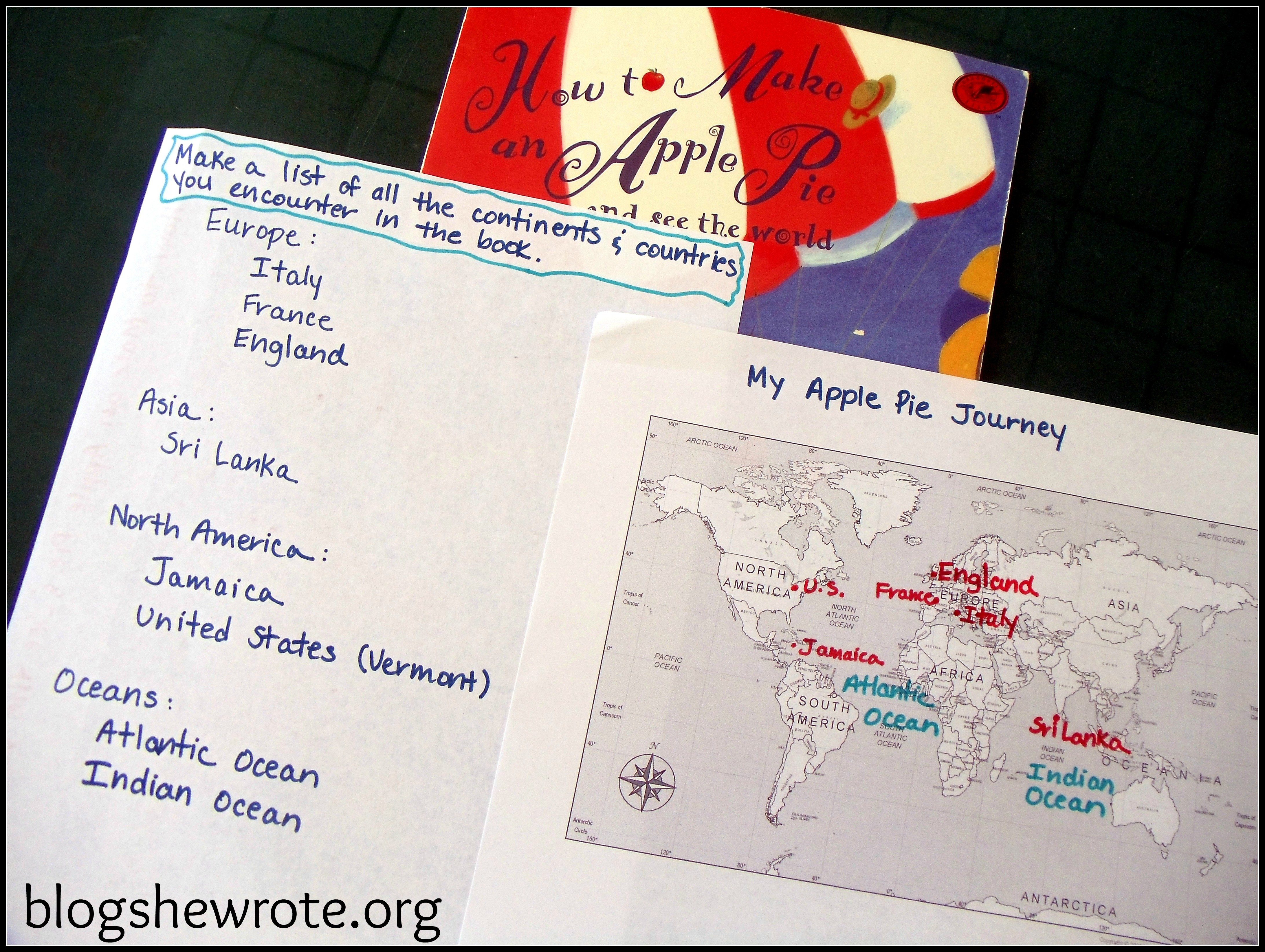 Blog She Wrote: Literature in Geography Quest