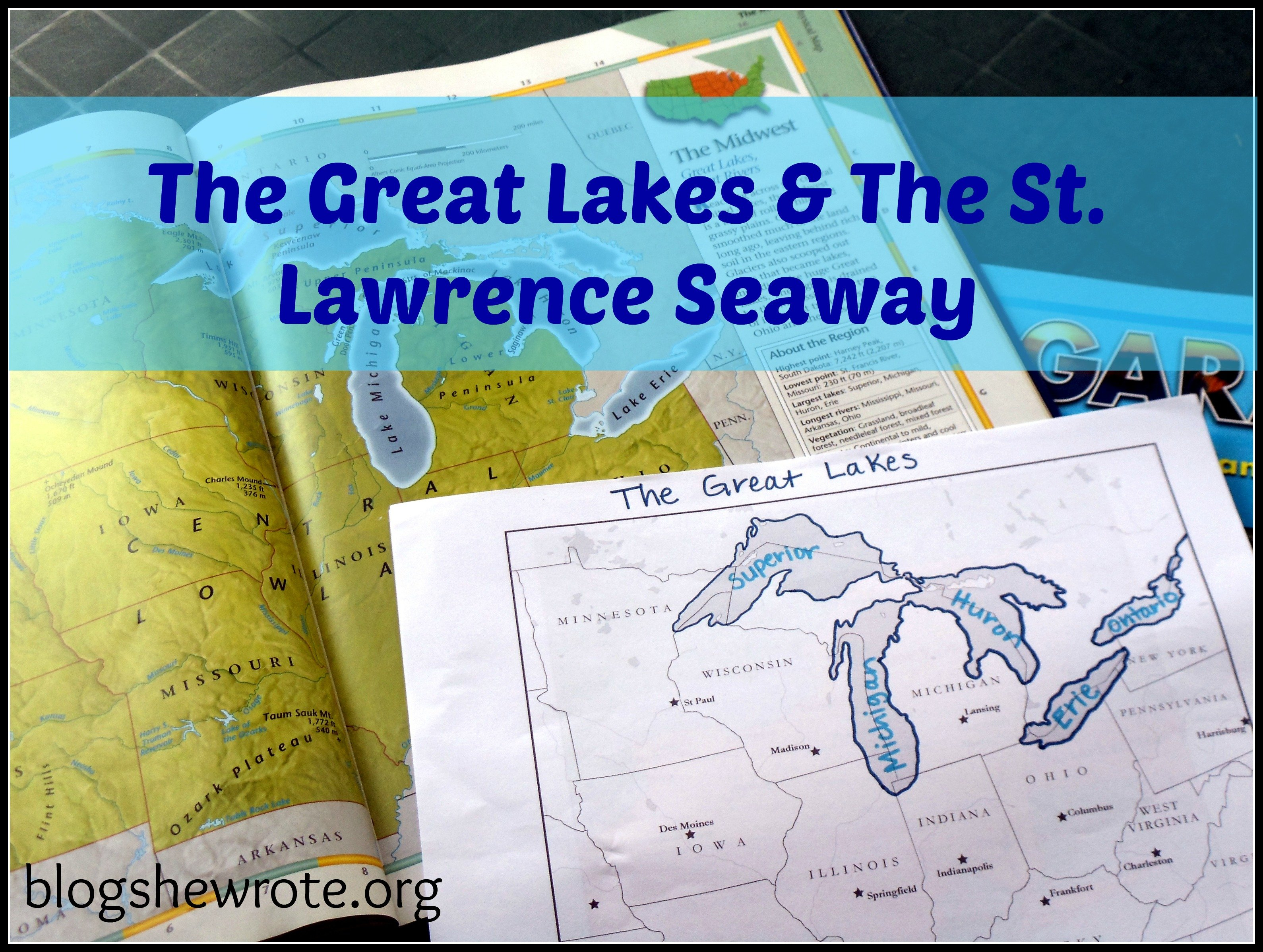 Blog She Wrote: Geography Quest Great Lakes
