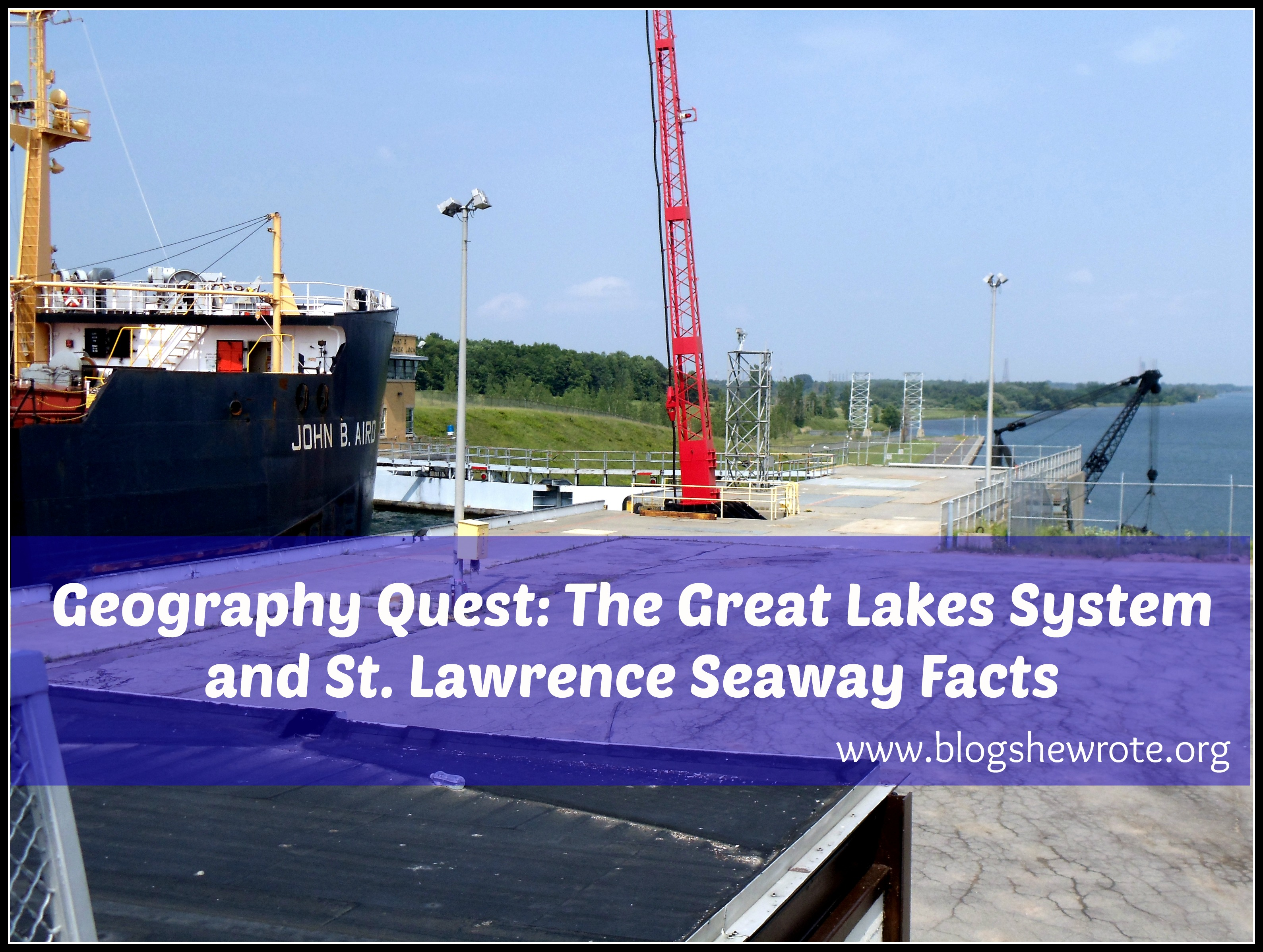 Geography Quest Great Lakes Answers