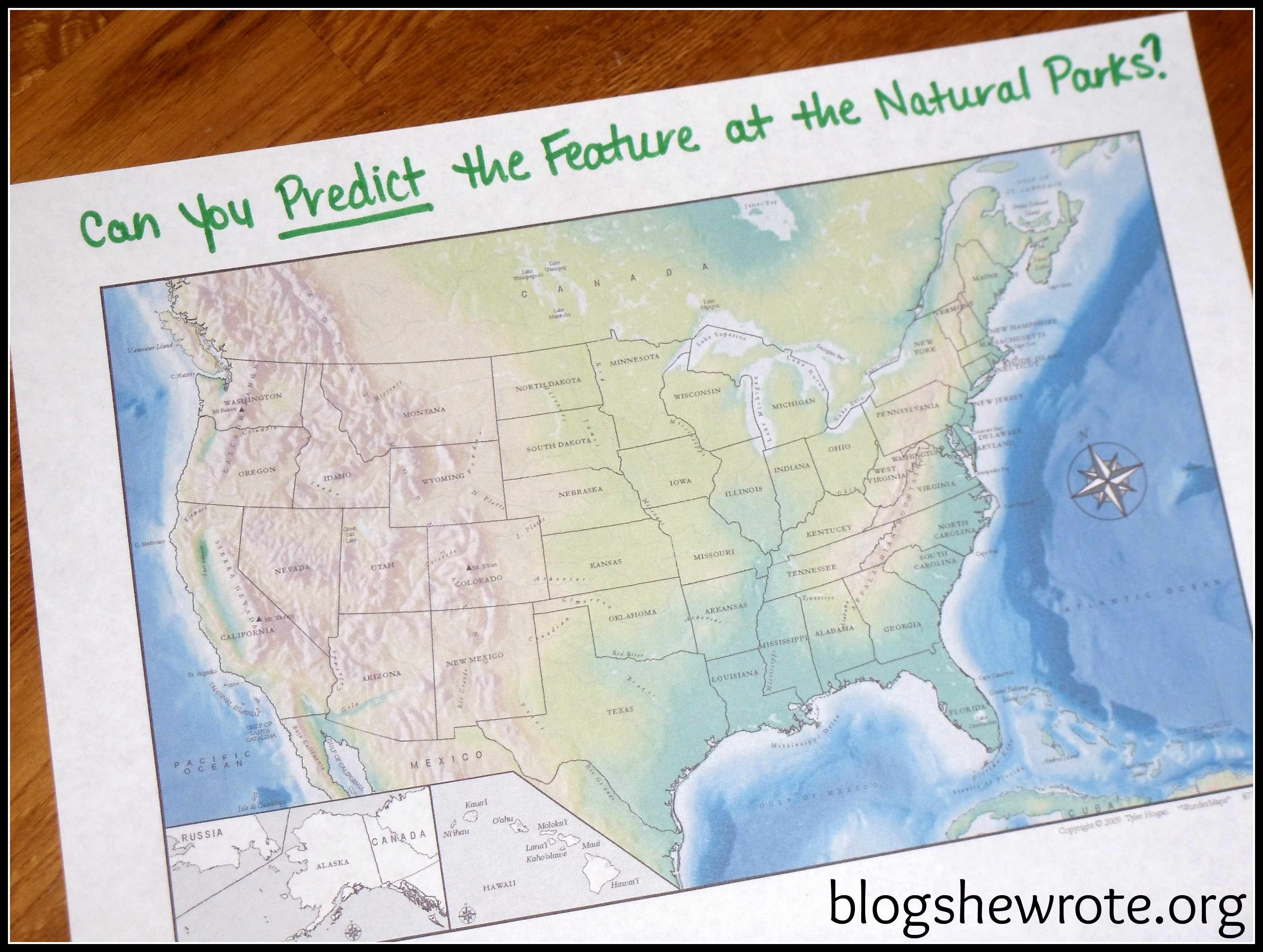 Blog, She Wrote: Geography Quest National Parks