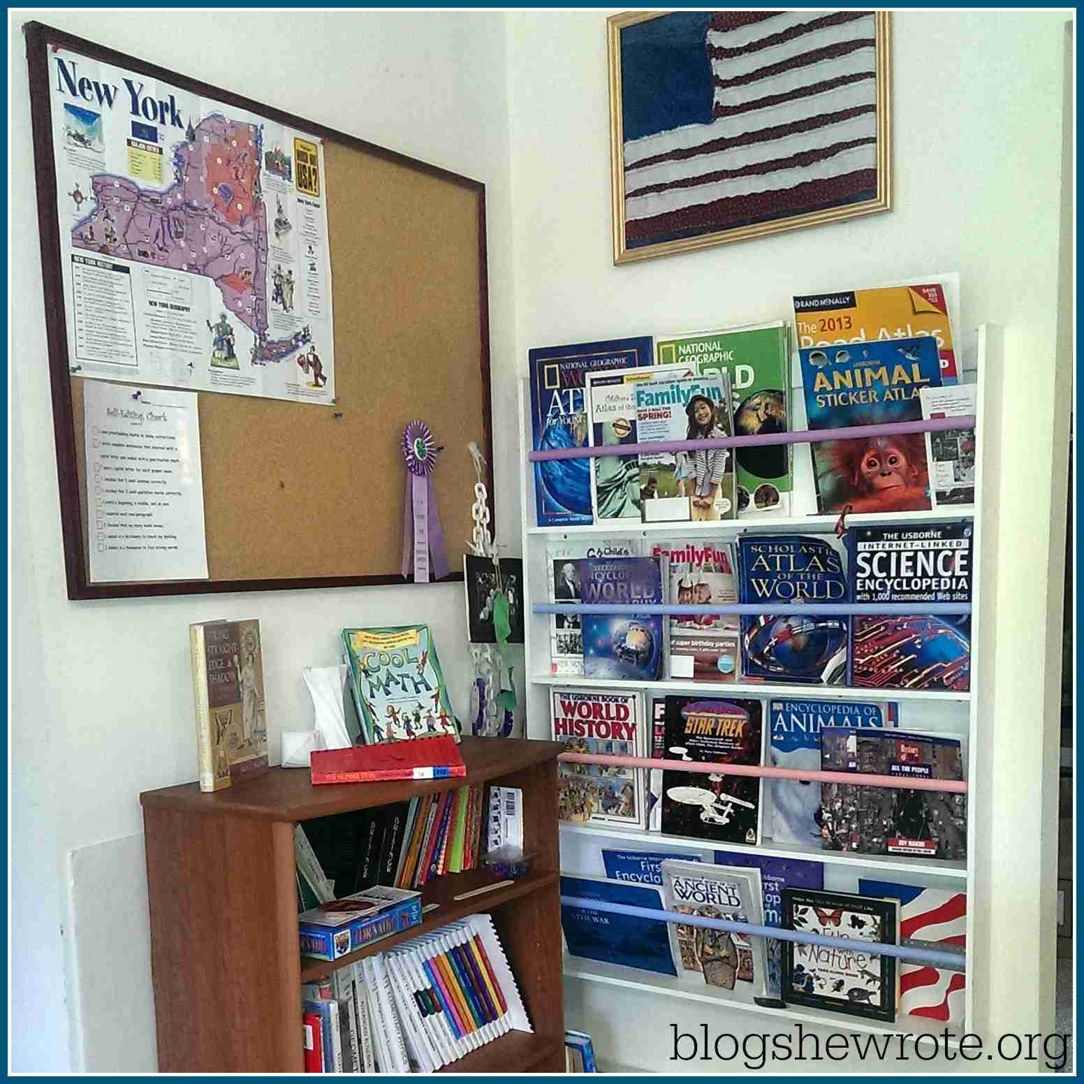 Blog, She Wrote: Essential Elements of a Home Learning Environement