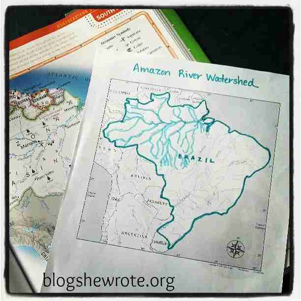 Blog She Wrote: Geography Quest Brazil