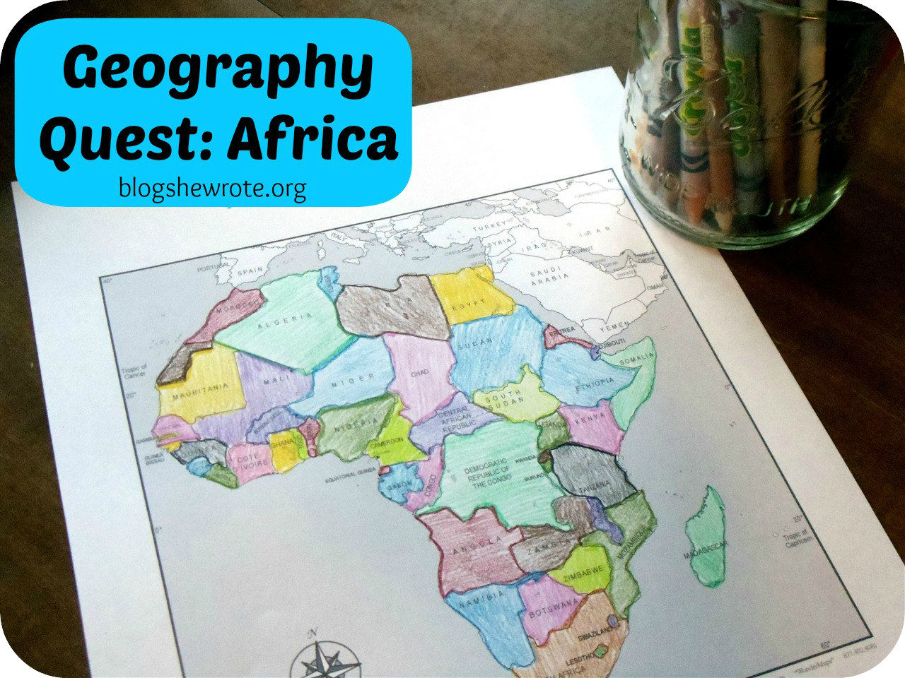Blog, She Wrote: Geography Quest Africa