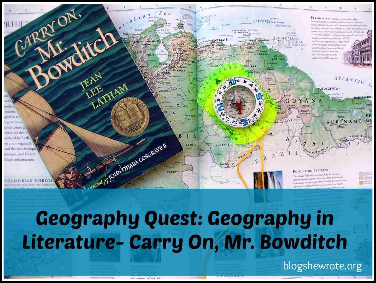 Blog, She Wrote: Geography Quest- Geography in Literature: Carry On, Mr. Bowditch