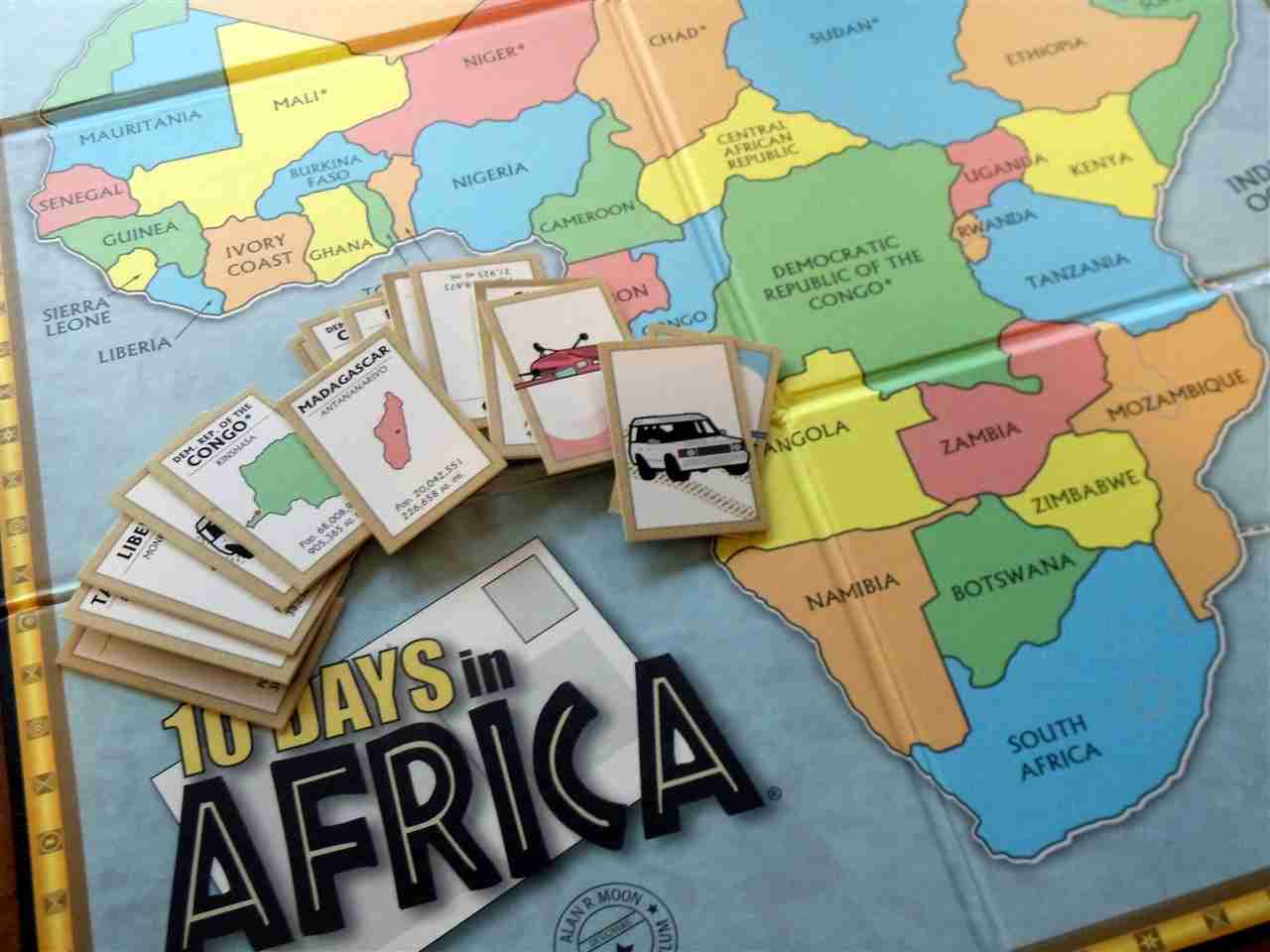 Blog, She Wrote: Geography Quest- Game Edition