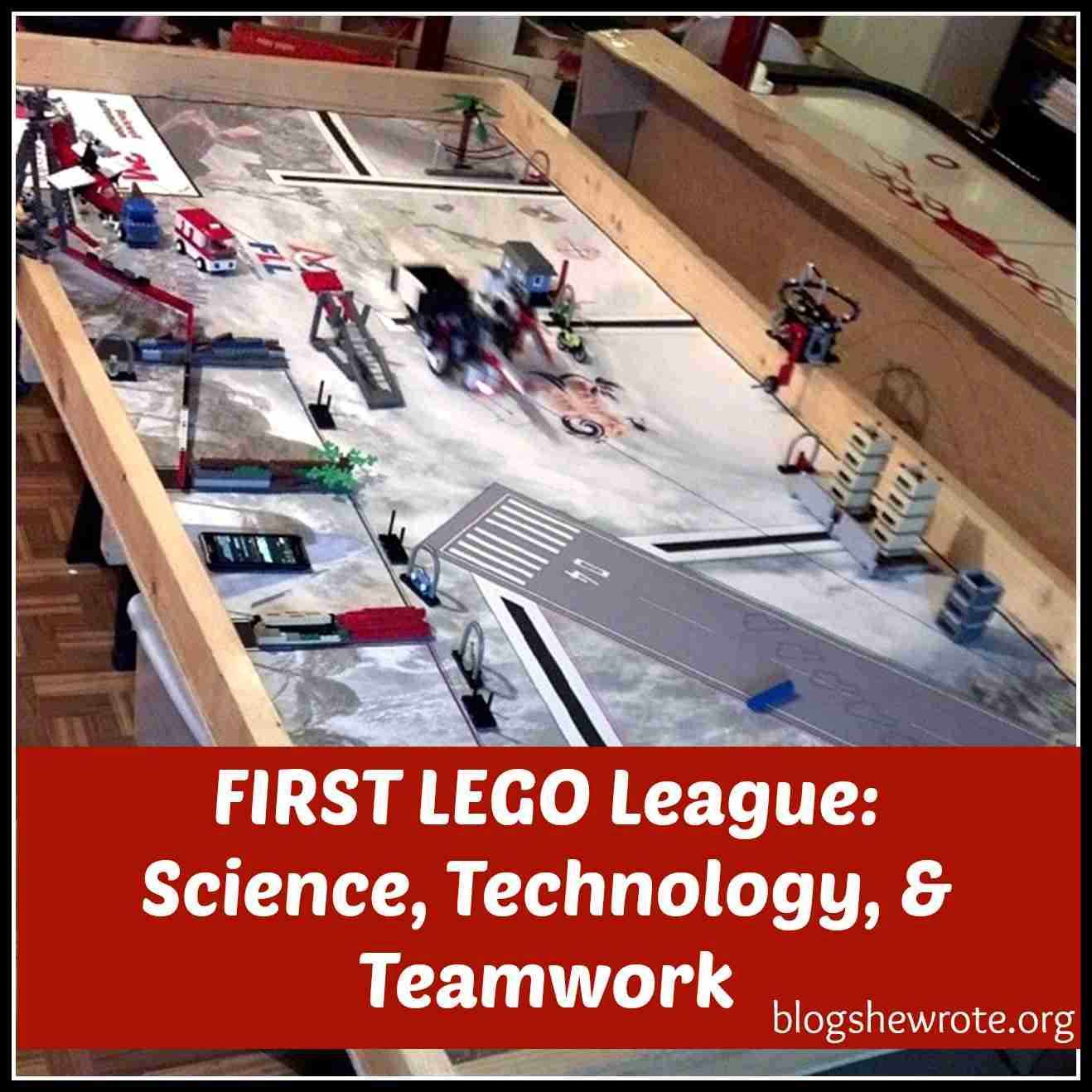 Blog, She Wrote: FIRST LEGO League- Science, Technology, & Teamwork