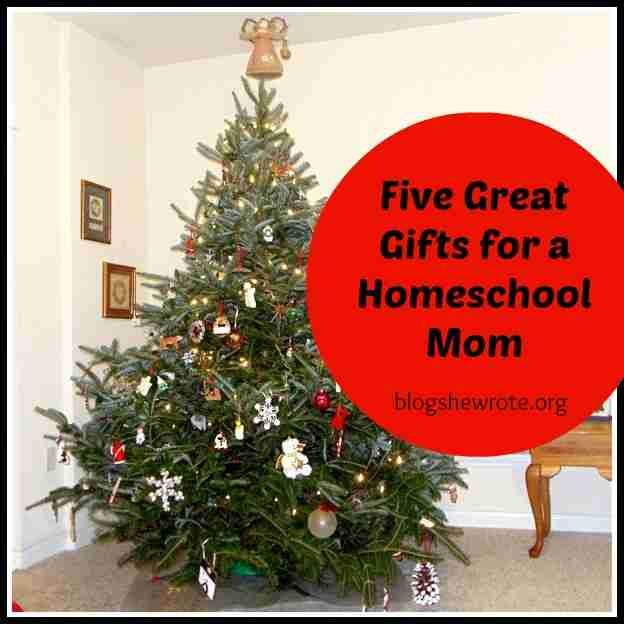 Blog, She Wrote: Five Great Gifts for a Homeschool Mom