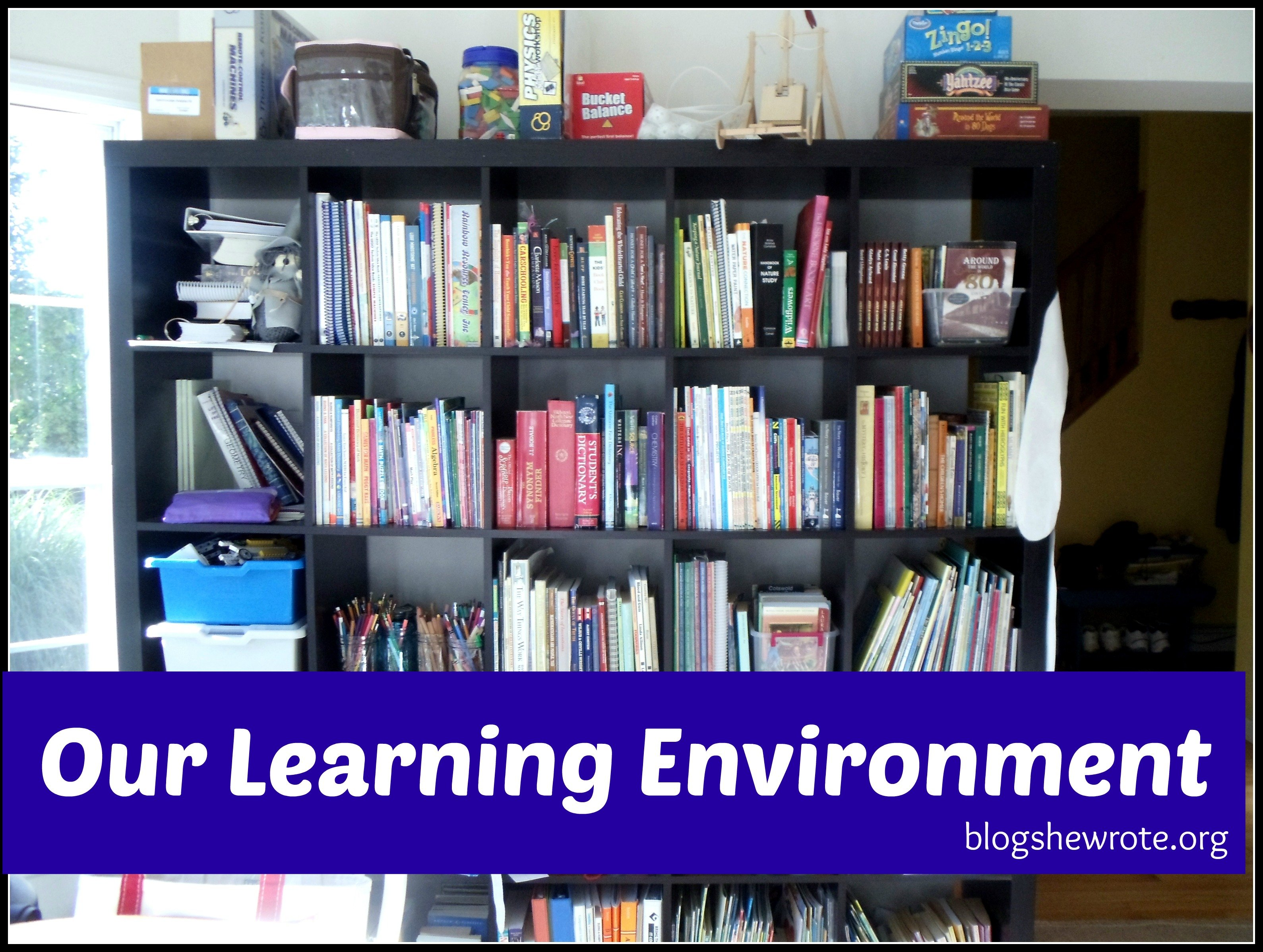 Blog, She Wrote: Our Learning Environment