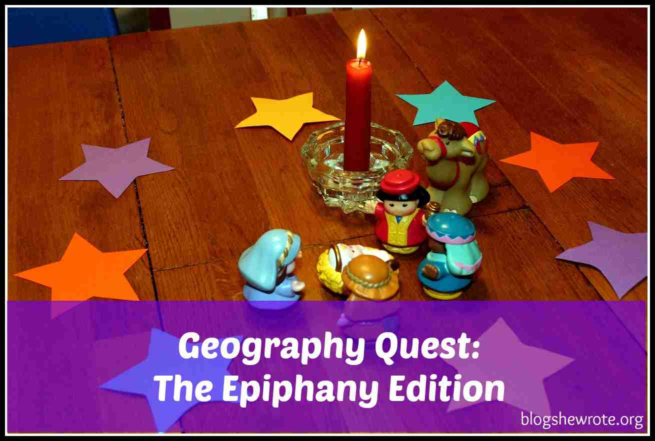 Blog, She Wrote: Geography Quest- The Epiphany Edition