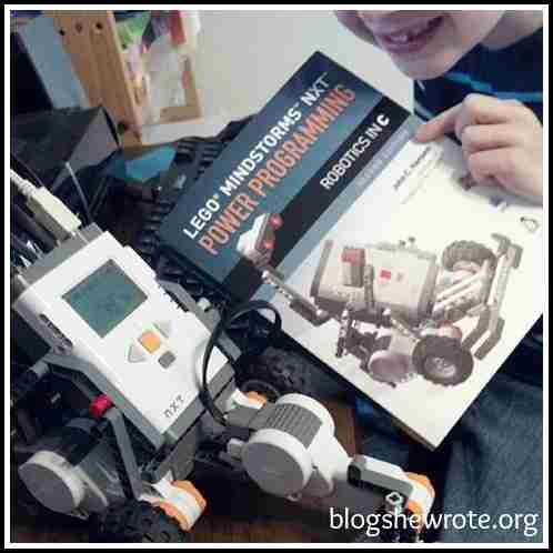 Blog, She Wrote: Benefits of Using LEGO Mindstorms in Your Homeschool