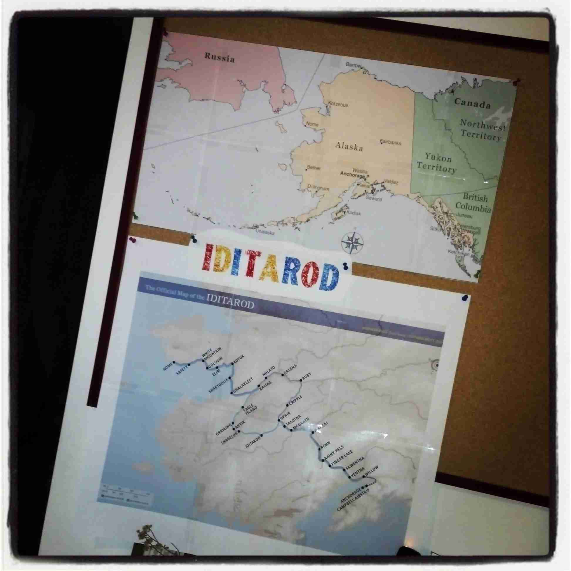 Blog, She Wrote: Geography Quest - Iditarod Edition