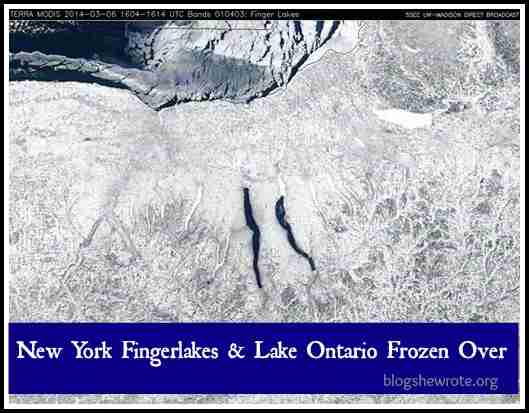 Blog, She Wrote: Great Lakes Ice Edition