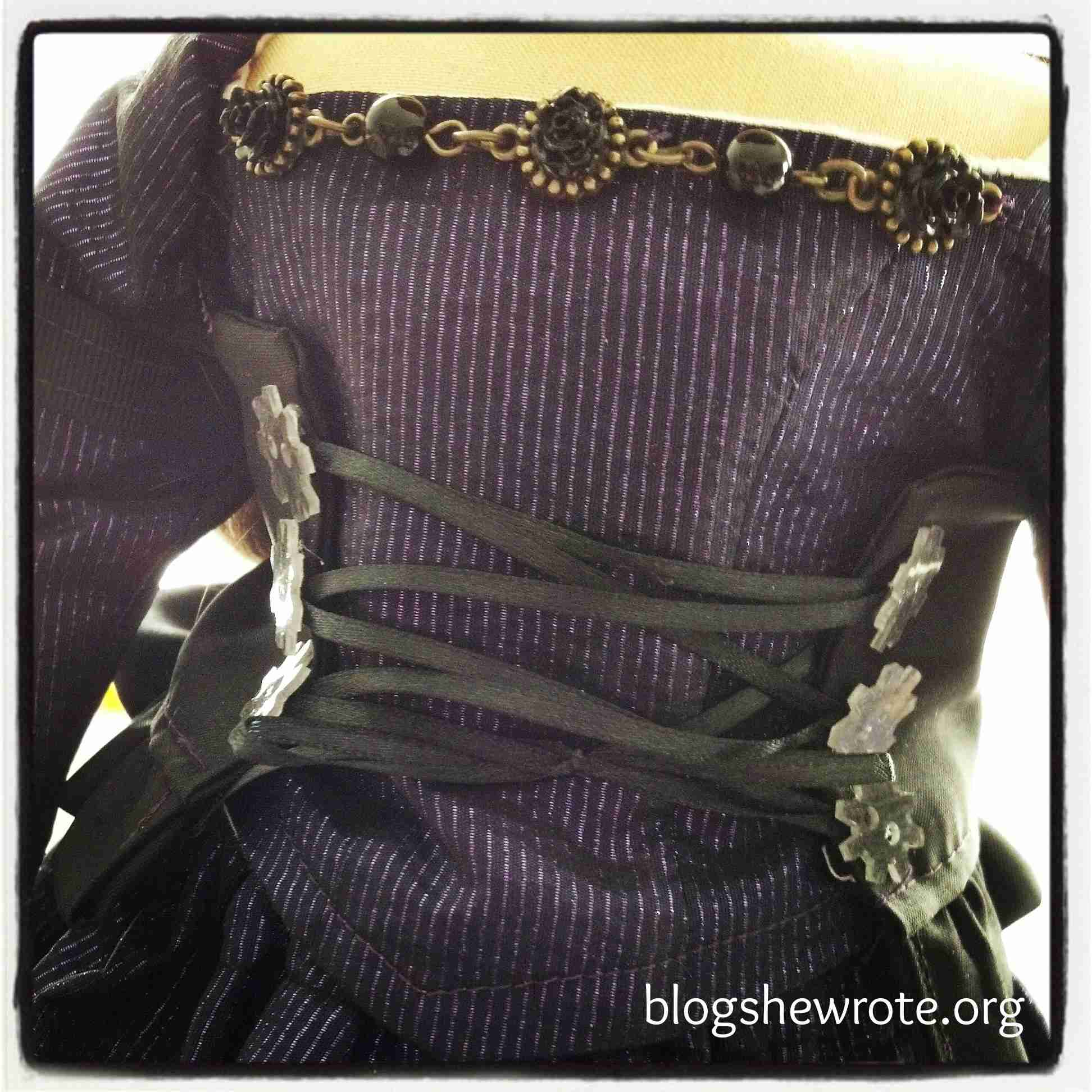 Blog, She Wrote: Steampunk Fashion Design & Drafting