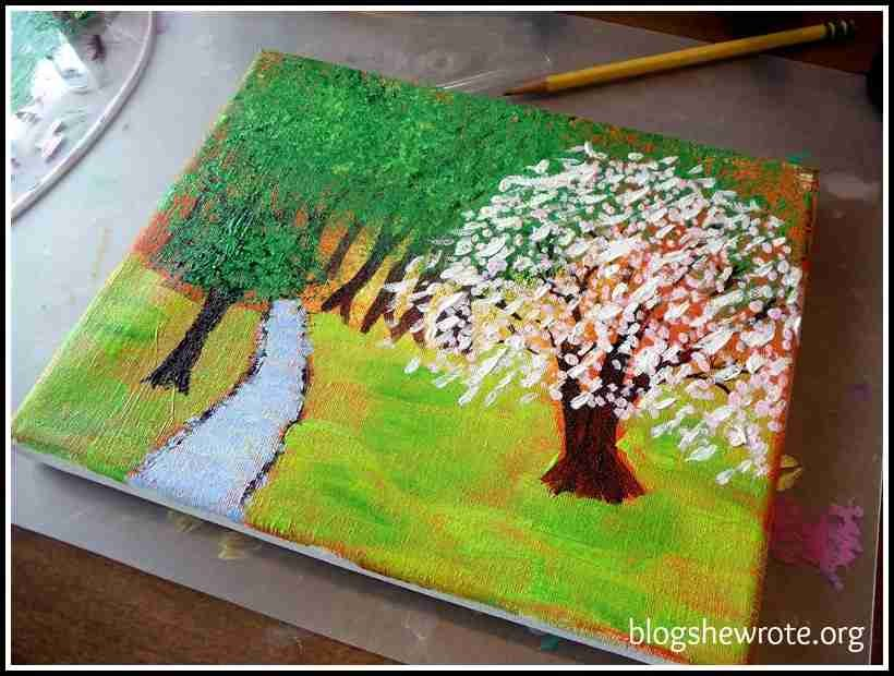 Blog, She Wrote: Celebrate Spring with Hodgepodge Art