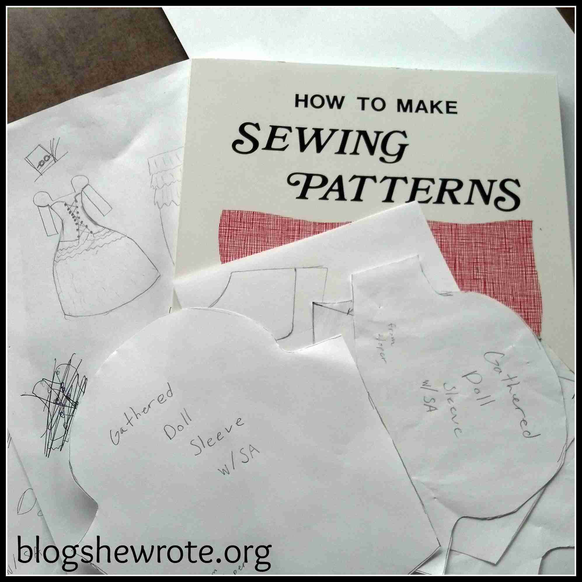 Blog, She Wrote: Steampunk Fashion Design & Drafting