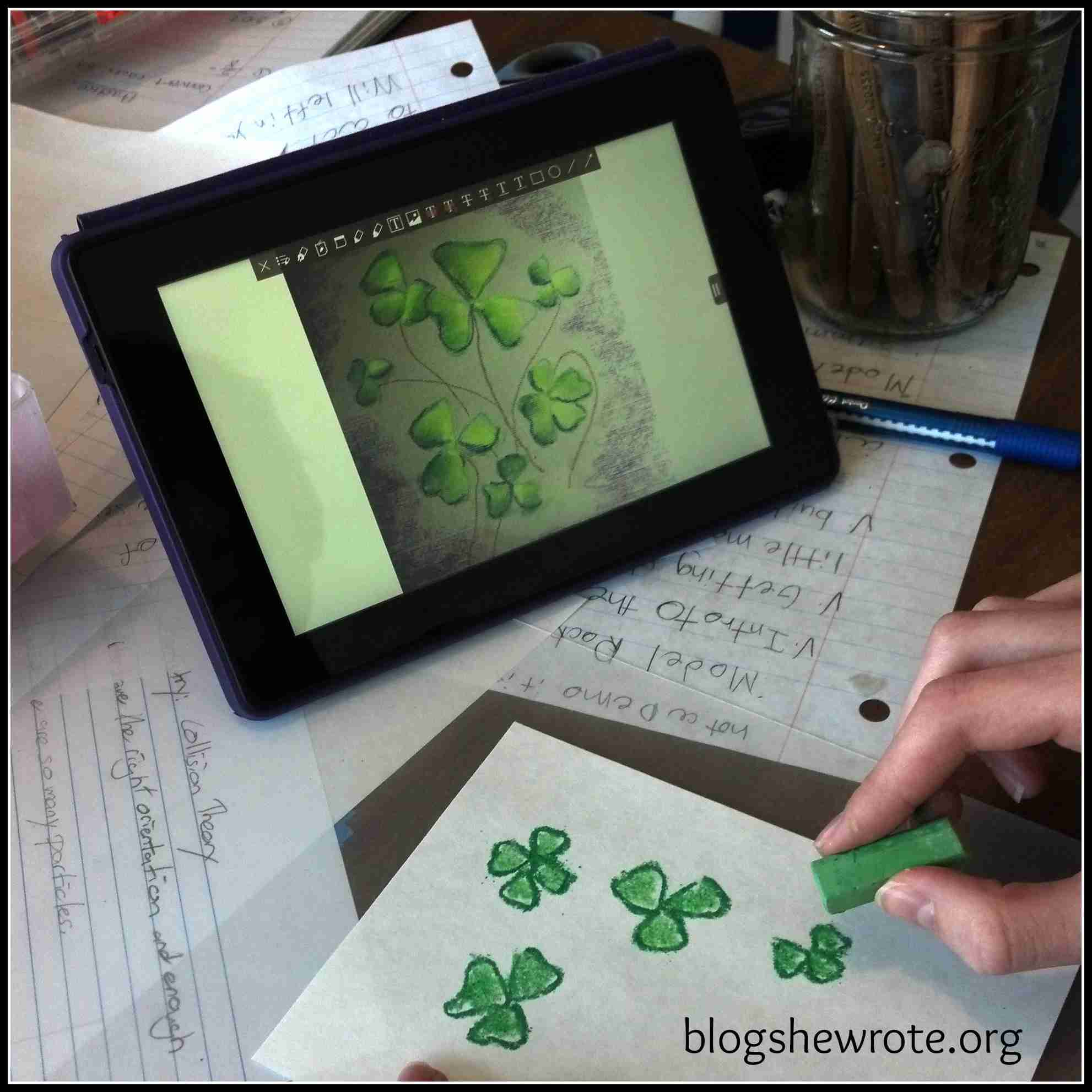 Blog, She Wrote: Geography Quest- St. Patrick Edition