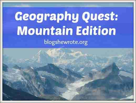 Blog, She Wrote: Mountain Edition