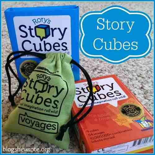 Blog, She Wrote: Story Cubes Review at Curriculum Choice