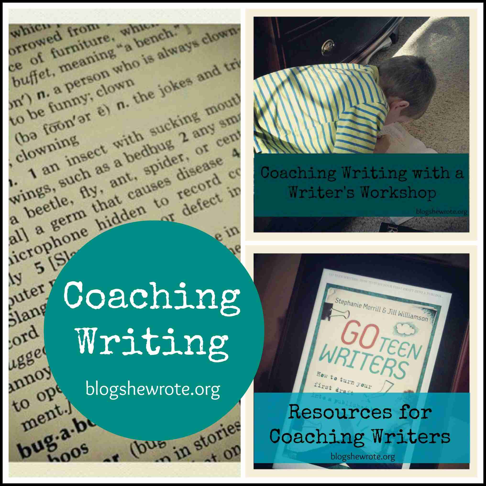 writing coaching I am an author, journalist, writing coach who lives in boulder, colorado my website is an eclectic mix of writing advice, original essays, stories and writing, as .