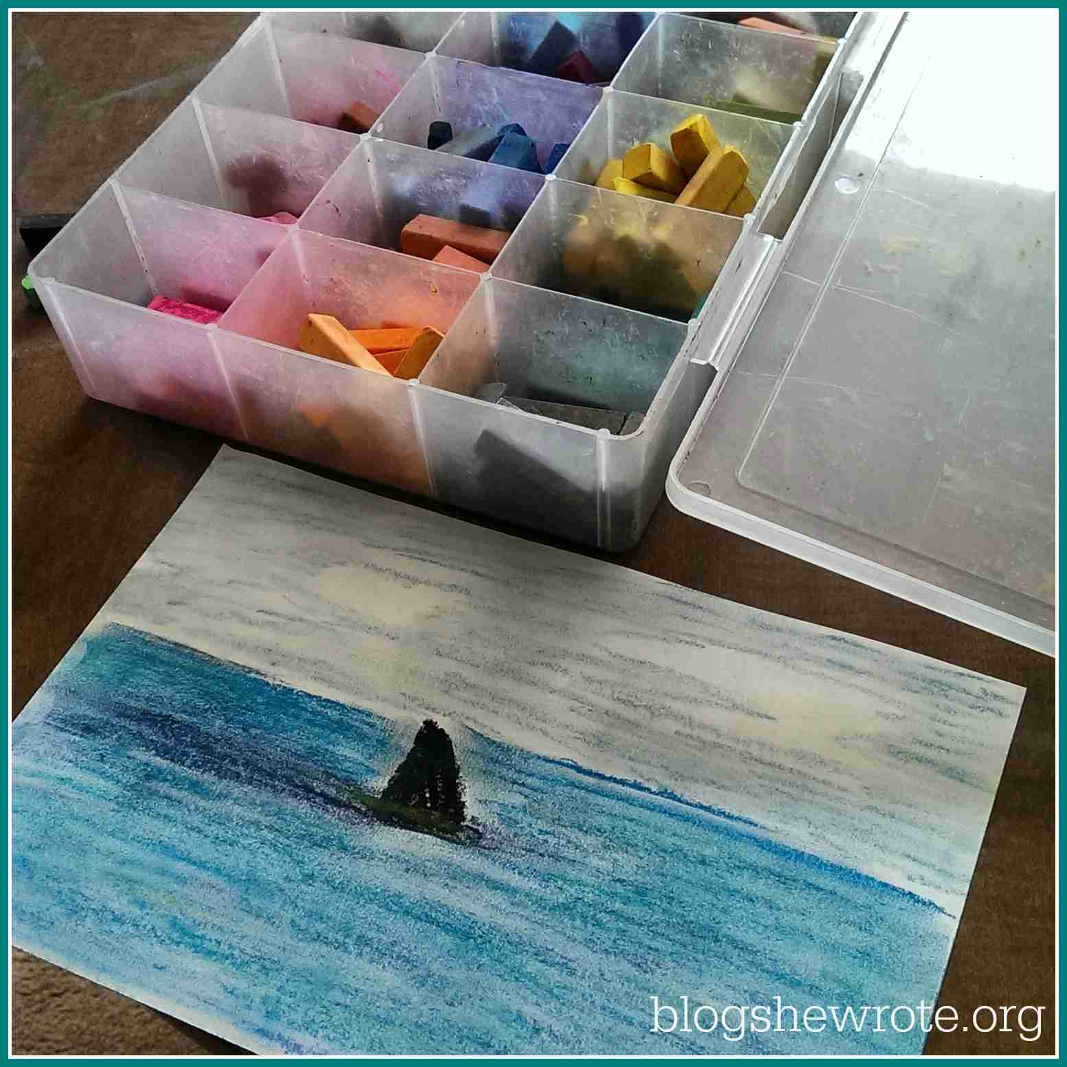 Blog, She Wrote: Geography Quest- Shark Edition