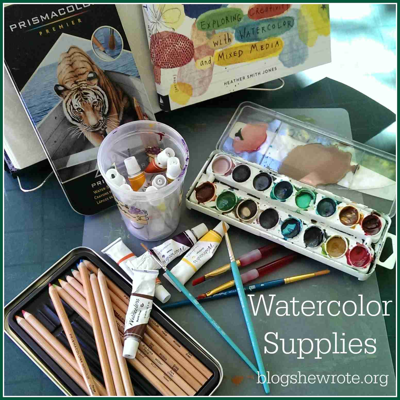 Blog, She Wrote: Must Have Art Supplies for a Project Based Homeschool