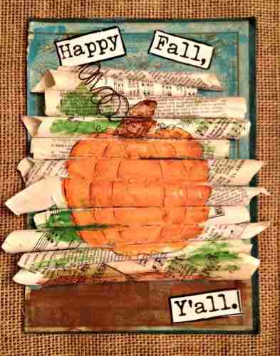 The Art of Fall- Mixed Media Workshop