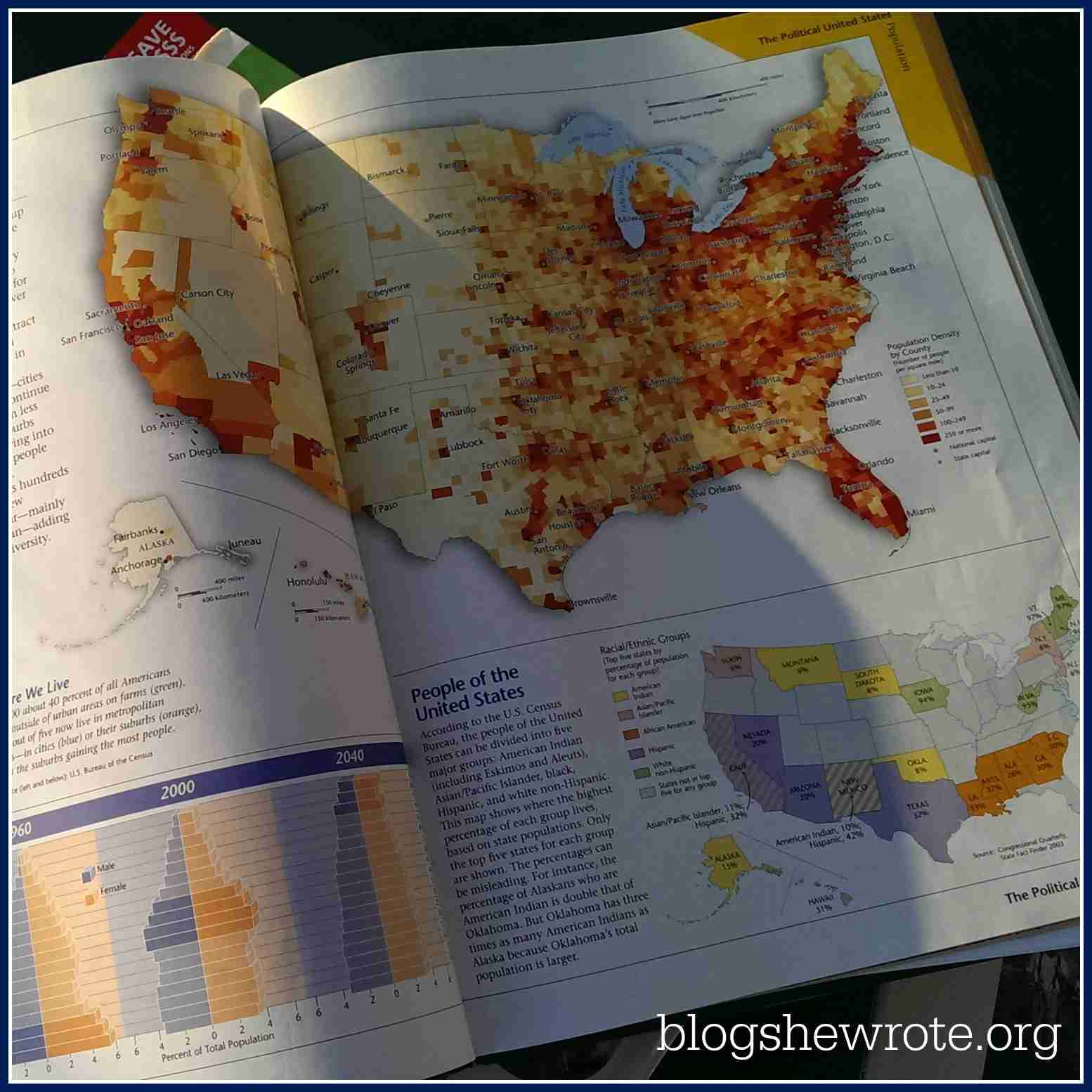 Blog, She Wrote: Learning Geography with Atlases