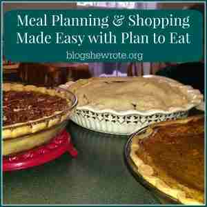 Meal Planning & Shopping Made Easy with Plan to Eat