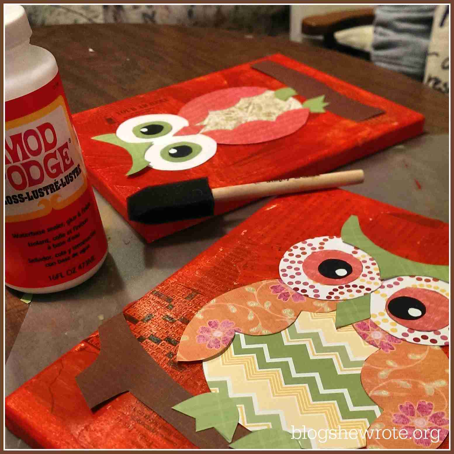 Blog, She Wrote: Mixed Media Fun for Homeschool Art