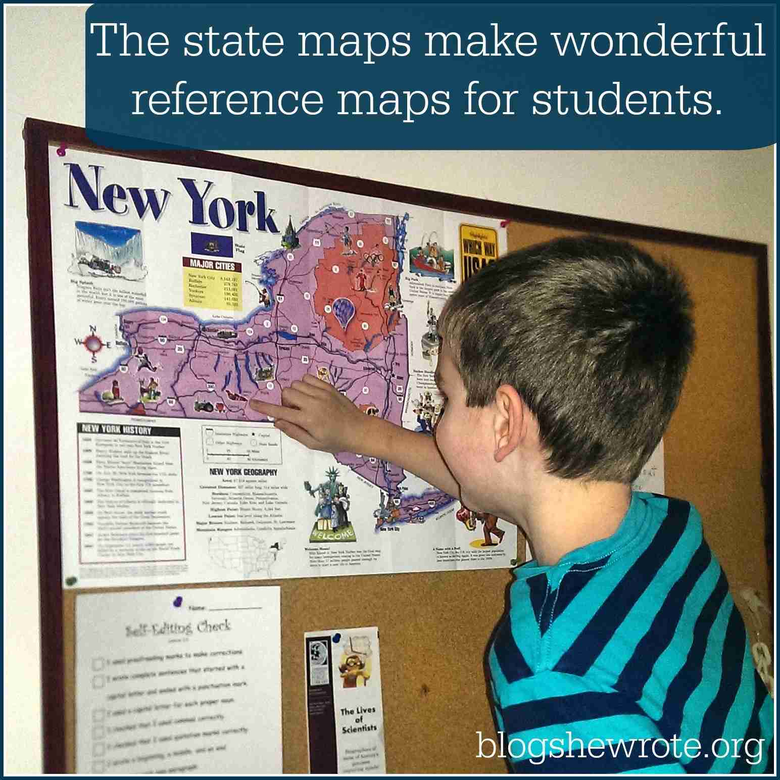 Blog, She Wrote: U.S. Geography with Which Way USA
