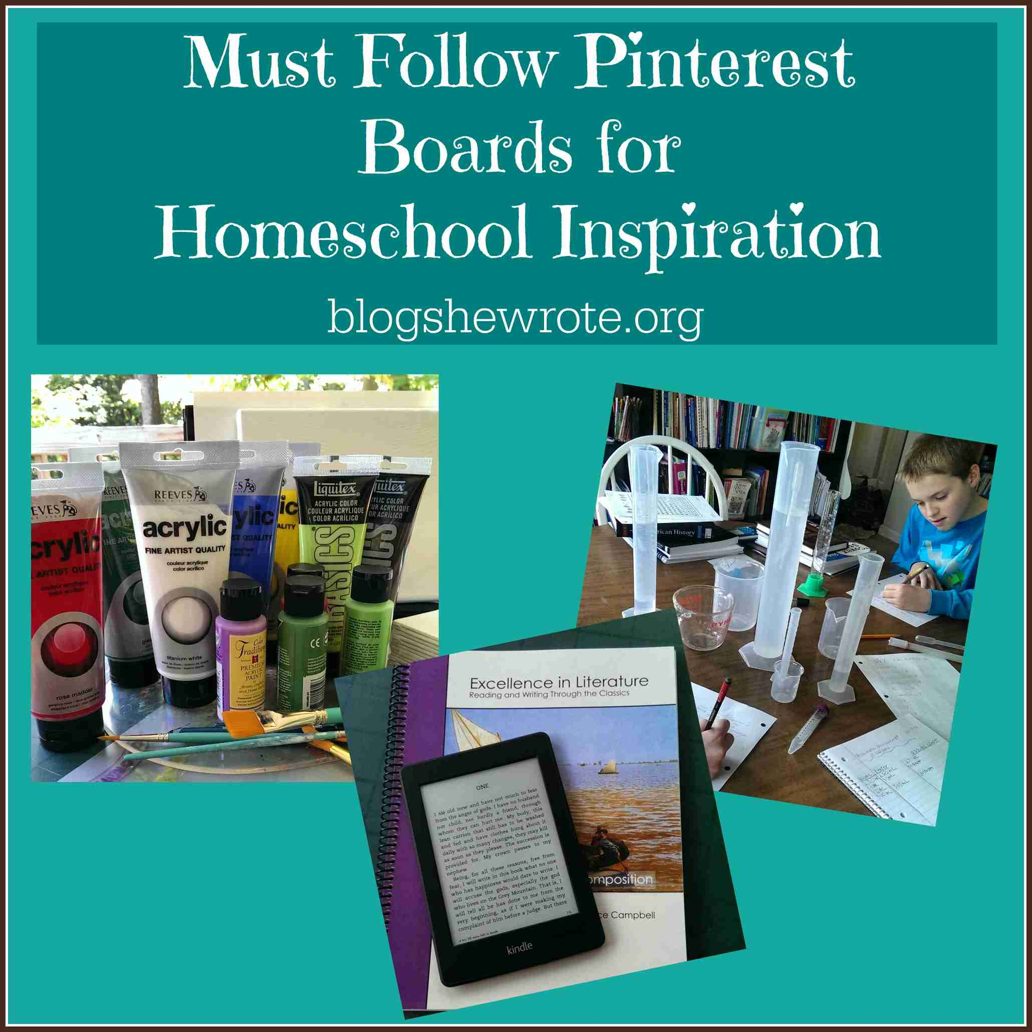 Must Read Homeschool Articles For Encouragement And: Must Follow Pinterest Boards For Homeschool Inspiration