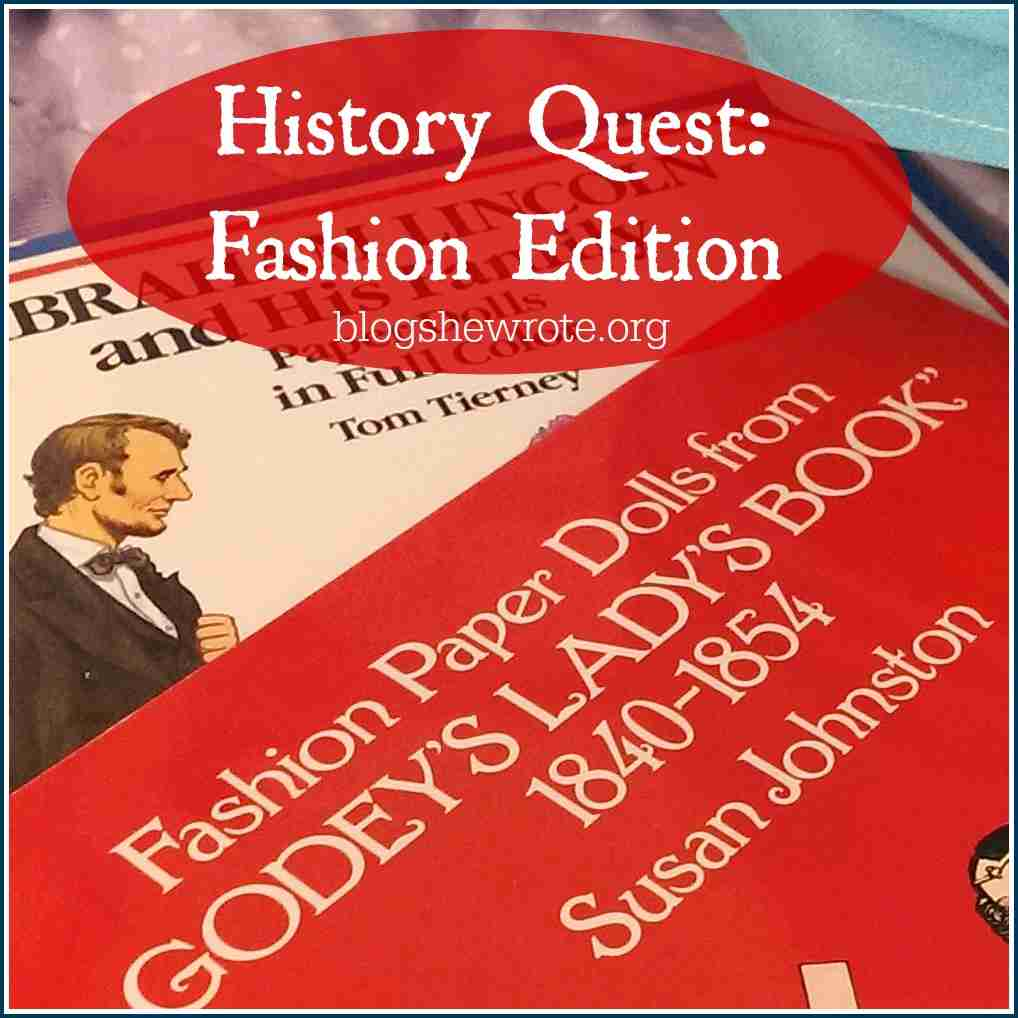 History Quest Fashion Edition