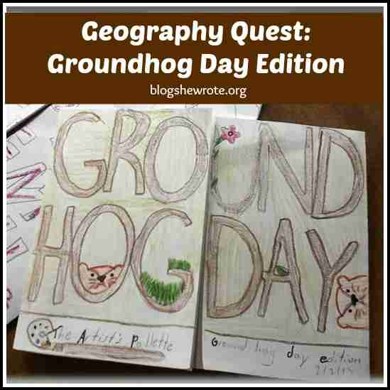Geography Quest Groundhog Day Edition