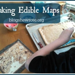 Blog, She Wrote Making Edible Maps