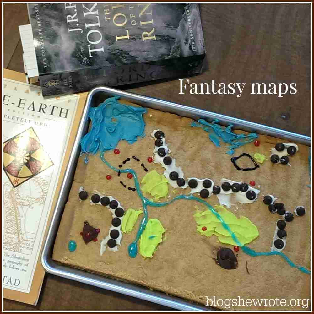 Blog, She Wrote Making Edible Maps