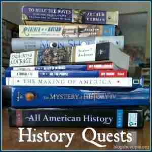 History Quests at Blog, She Wrote