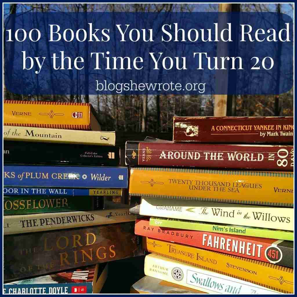 100 Books You Should Read By The Time You Turn 20- The -4777