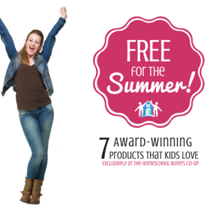 Free for the Summer at Homeschool Buyer's Co-op