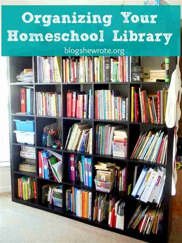 Organizing Your Homeschool Library