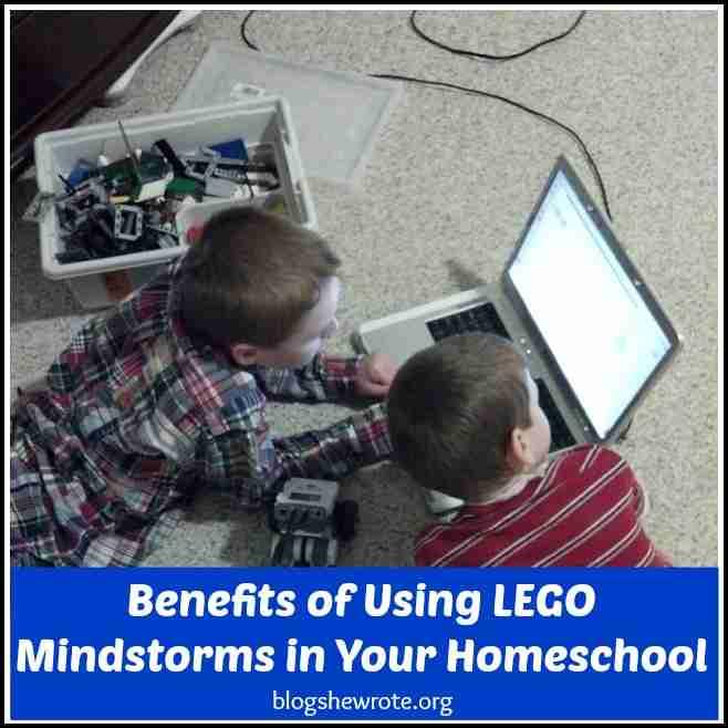 Benefits of Using LEGO Mindstorms in Your Homeschool
