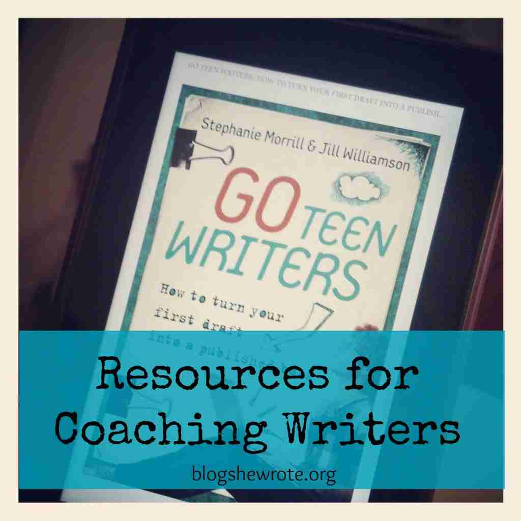 Resources for Coaching Writers