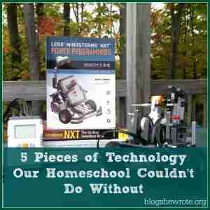 5 Pieces of Technology Our Homeschool Couldn't Do Without