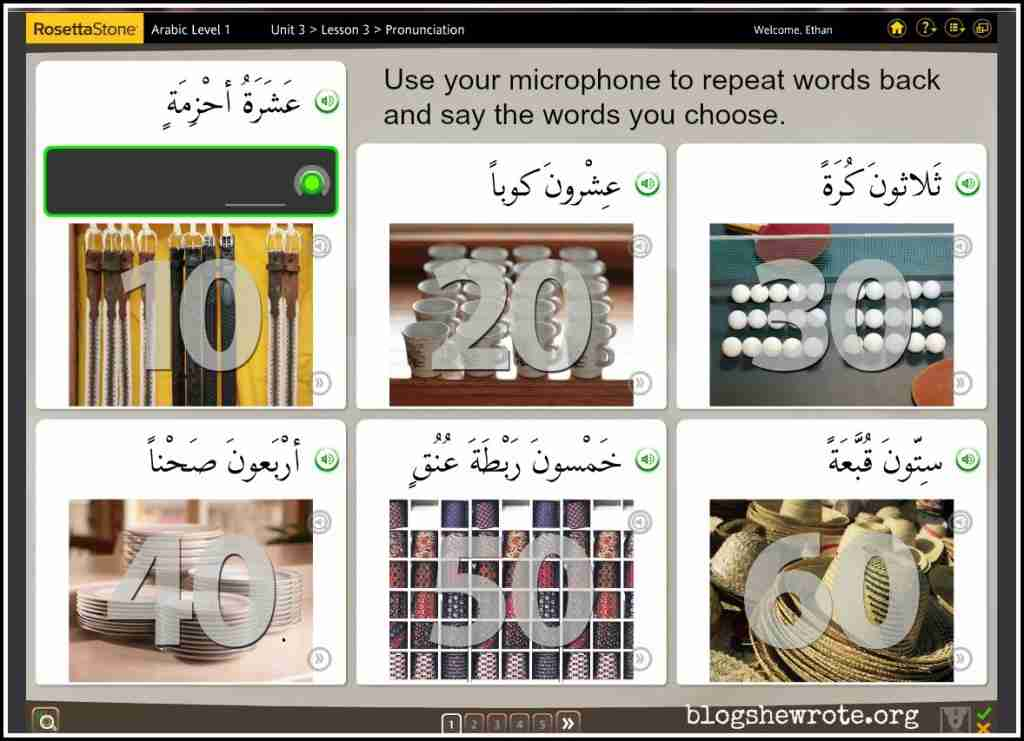 Learn Arabic at Home with Rosetta Stone