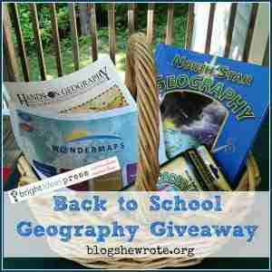 Back to School Geography Giveaway